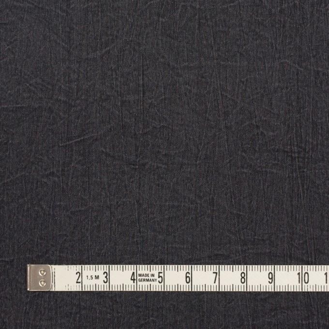 シルク&ナイロン×無地(チャコールグレー)×ポプリンワッシャー イメージ4