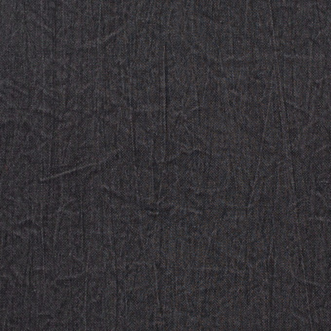 シルク&ナイロン×無地(チャコールグレー)×ポプリンワッシャー イメージ1