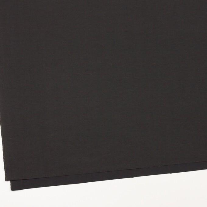 コットン&ナイロン×無地(チャコール)×タッサーポプリン_イタリア製 イメージ2
