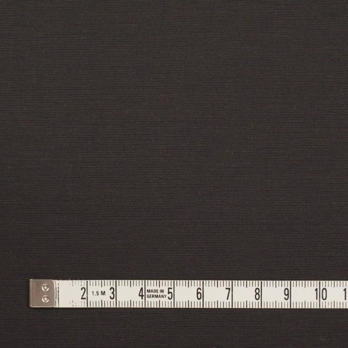 コットン&ナイロン×無地(チャコール)×タッサーポプリン_イタリア製 イメージ4