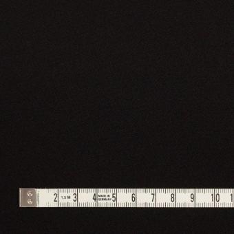 ポリエステル&トリアセテート×無地(ブラック)×バックサテンジョーゼット サムネイル4