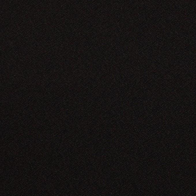 ポリエステル&トリアセテート×無地(ブラック)×バックサテンジョーゼット イメージ1
