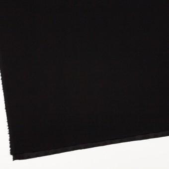 ポリエステル&アセテート×無地(ブラック)×バックサテンジョーゼット サムネイル2
