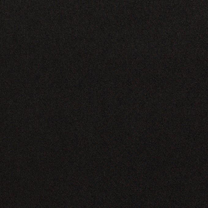 ポリエステル×無地(ブラック)×サテン イメージ1