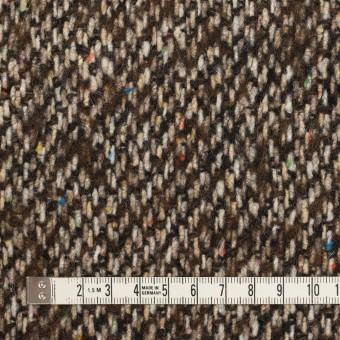 ウール×ミックス(ブラウン)×ツイード_イタリア製 サムネイル4