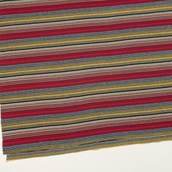 コットン×ボーダー(マルチ)×かわり編み サムネイル2