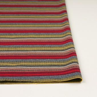 コットン×ボーダー(マルチ)×かわり編み サムネイル3