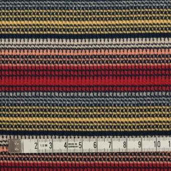 コットン×ボーダー(マルチ)×かわり編み サムネイル4
