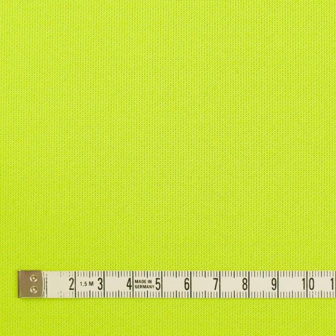 ポリエステル&コットン混×無地(パープル&ネオングリーン)×Wニット イメージ5
