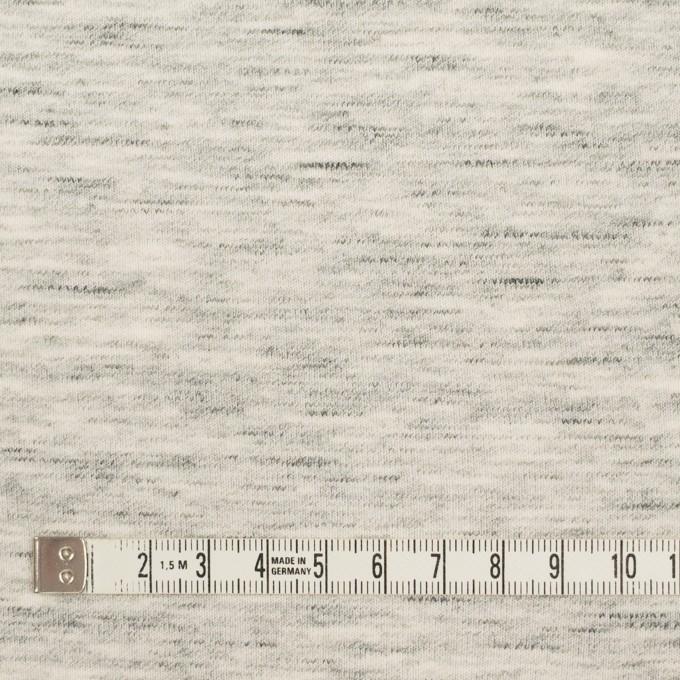 コットン×無地(杢グレー)×Wニット イメージ4