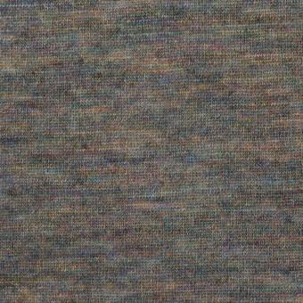 ウール×ミックス(スチールグレー)×天竺ニット サムネイル1