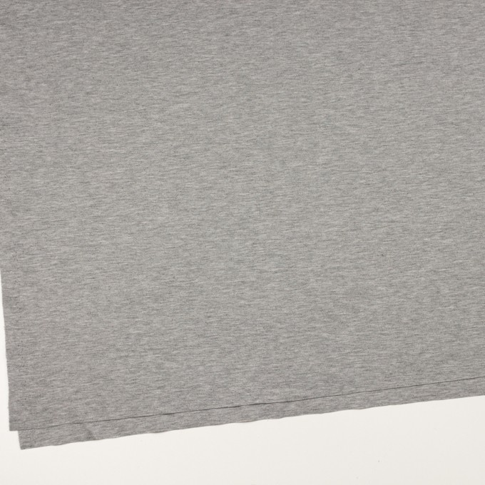 コットン&リヨセル×無地(グレー)×スムースニット イメージ2