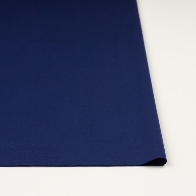 コットン&モダール×無地(マリンブルー)×Wニット イメージ3