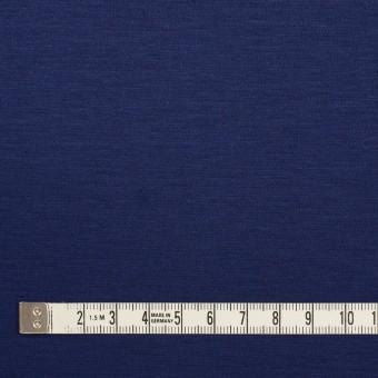 コットン&モダール×無地(マリンブルー)×Wニット サムネイル4