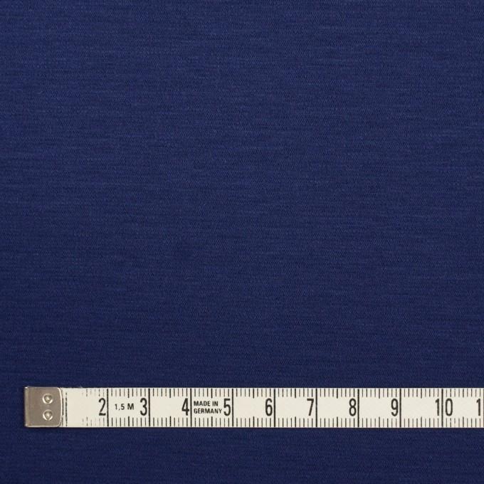 コットン&モダール×無地(マリンブルー)×Wニット イメージ4