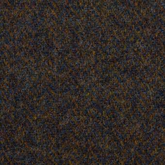 ウール×ミックス(ブラウン&ネイビー)×ツイード サムネイル1