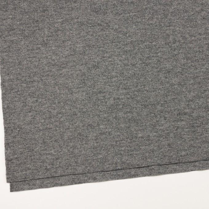 ウール×無地(グレー)×圧縮ニット イメージ2