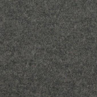 ウール×無地(チャコールグレー)×圧縮ニット