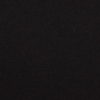 ウール×無地(ブラック)×圧縮ニット