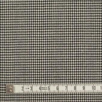 ウール&ポリウレタン×チェック(ブラック)×千鳥格子ストレッチ サムネイル4