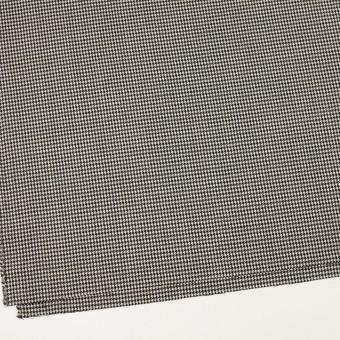 ウール×チェック(ブラック)×千鳥格子 サムネイル2