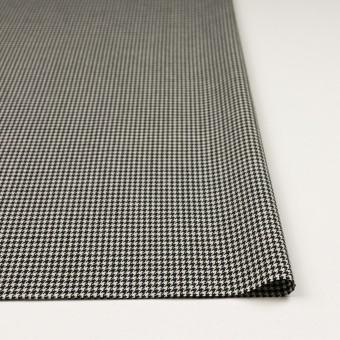 ウール×チェック(ブラック)×千鳥格子 サムネイル3