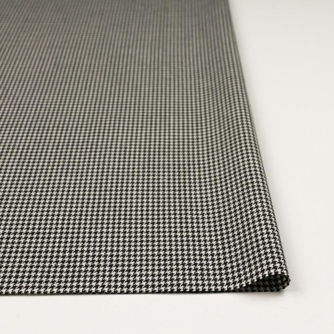 ウール×チェック(ブラック)×千鳥格子 イメージ3