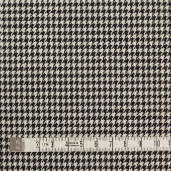 ウール×チェック(ブラック)×千鳥格子 サムネイル4