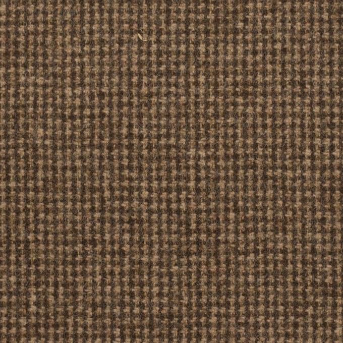 ウール×チェック(モカ)×千鳥格子 イメージ1