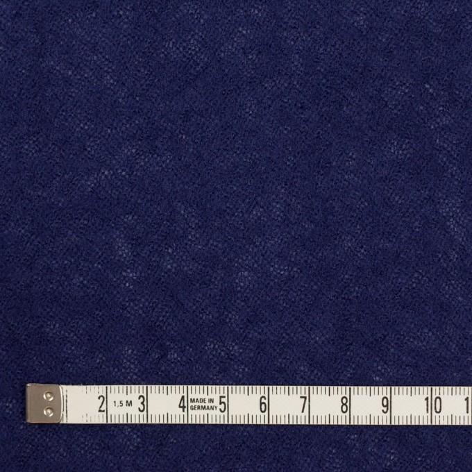 ウール×無地(マリンブルー)×ガーゼ イメージ4