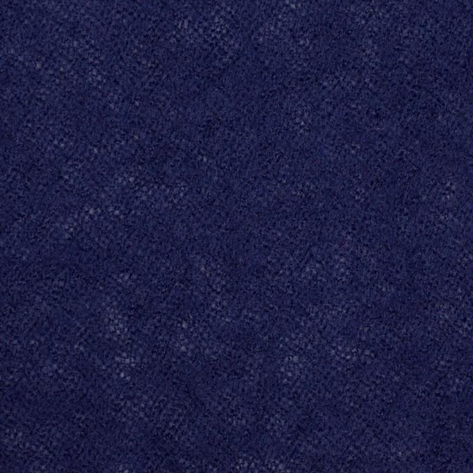 ウール×無地(マリンブルー)×ガーゼ イメージ1