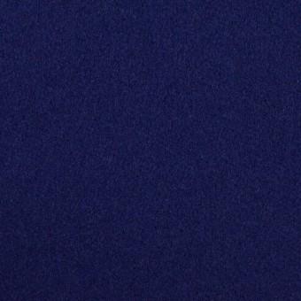 ウール×無地(マリンブルー)×フラノ(フランネル)