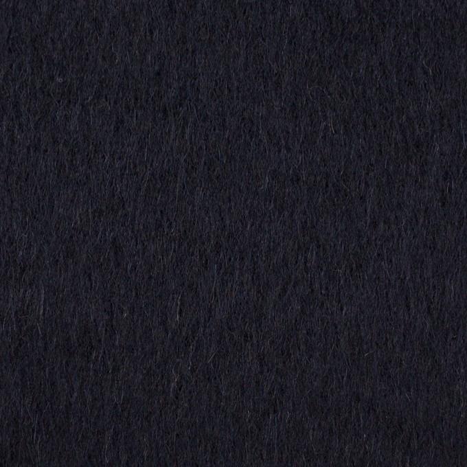 ウール&アクリル×無地(ダークネイビー&チャコールグレー)×ビーバー&ツイード イメージ1
