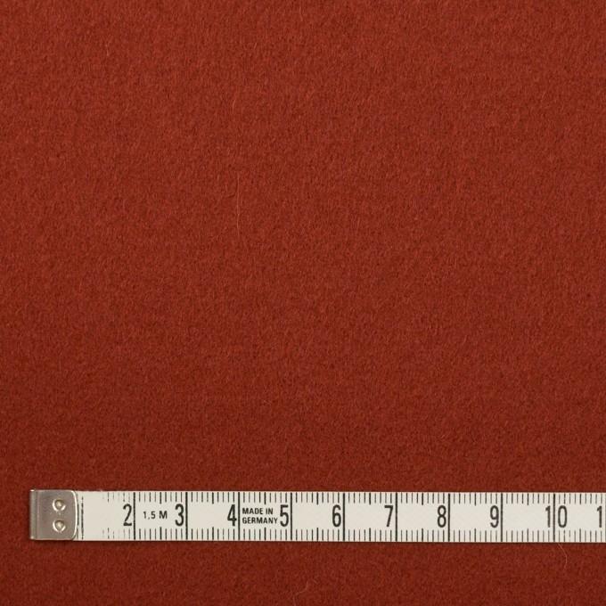 ウール×無地(ケチャップ)×ソフトメルトン イメージ4