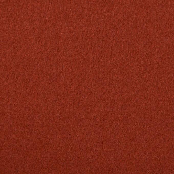 ウール×無地(ケチャップ)×ソフトメルトン イメージ1