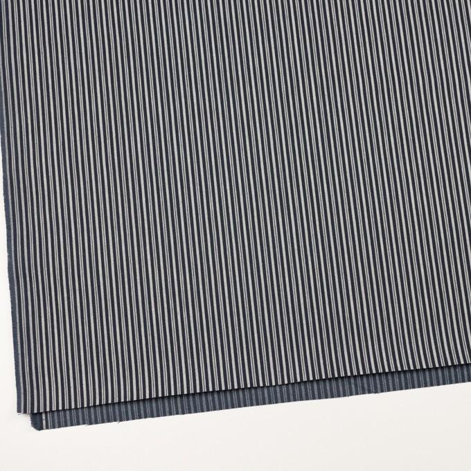 コットン×ストライプ(インディゴ)×デニムヒッコリー(9.5oz) イメージ2