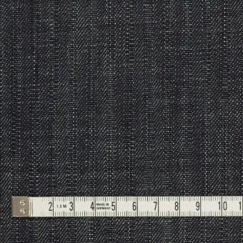 コットン×無地&ストライプ(インディゴ)×デニム(12oz) サムネイル4