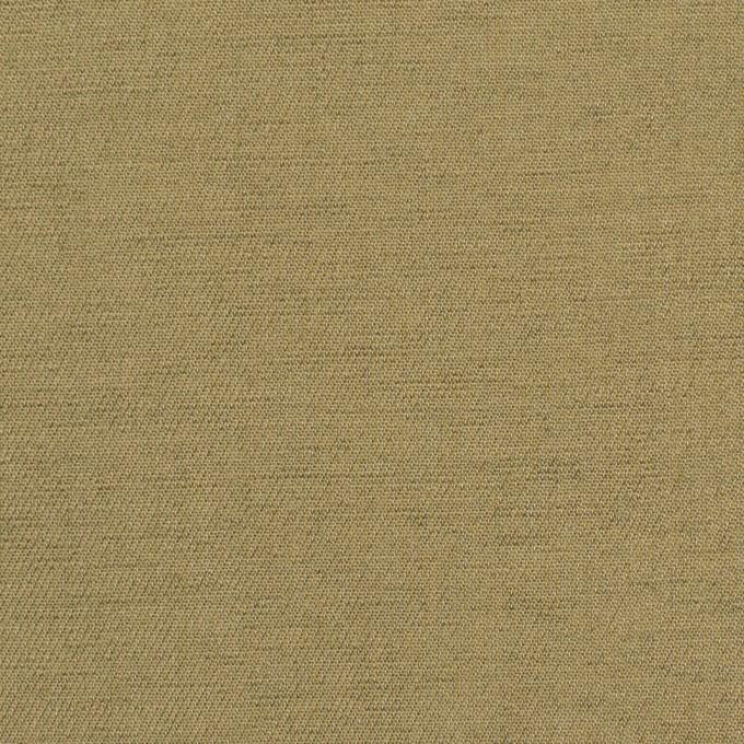 ウール&カシミア混×無地(カーキベージュ)×サージ_イタリア製 イメージ1