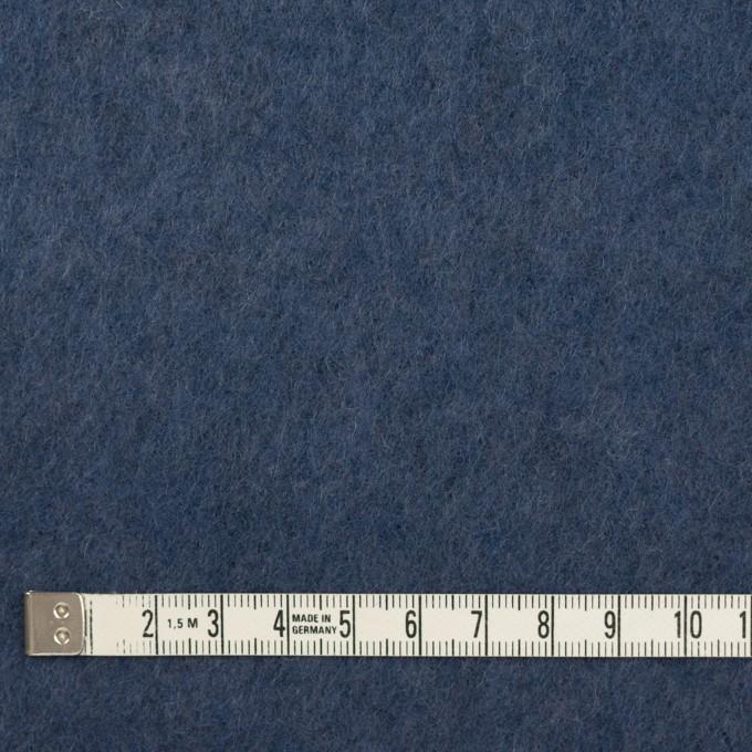 アクリル&ウール×無地(ウィンターブルー)×フリースニット_イタリア製 イメージ4