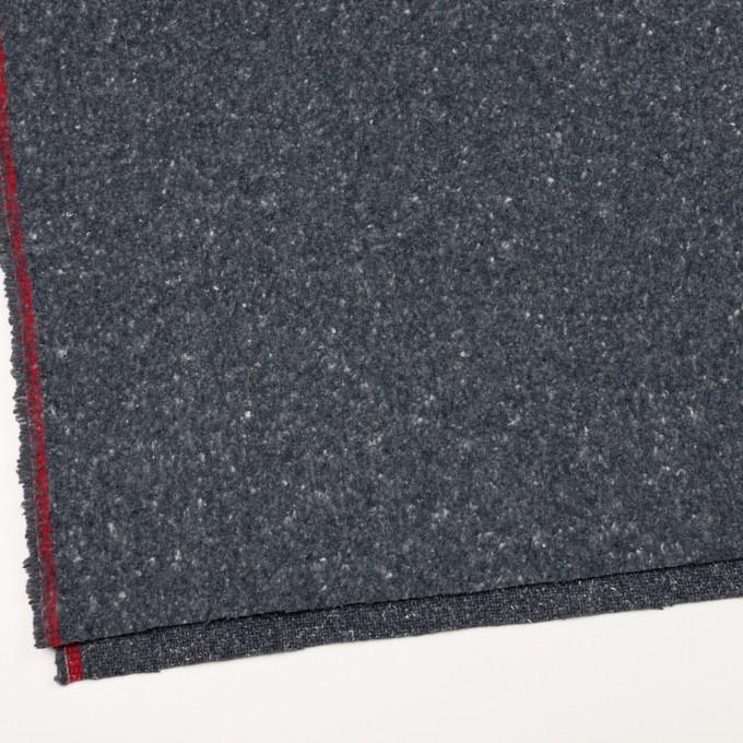 コットン×無地(ブルーグレー)×かわり織 イメージ2