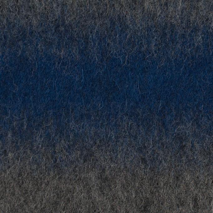 ウール&カシミア×オンブレ(ブルー&グレー)×ビーバー_全2色 イメージ1