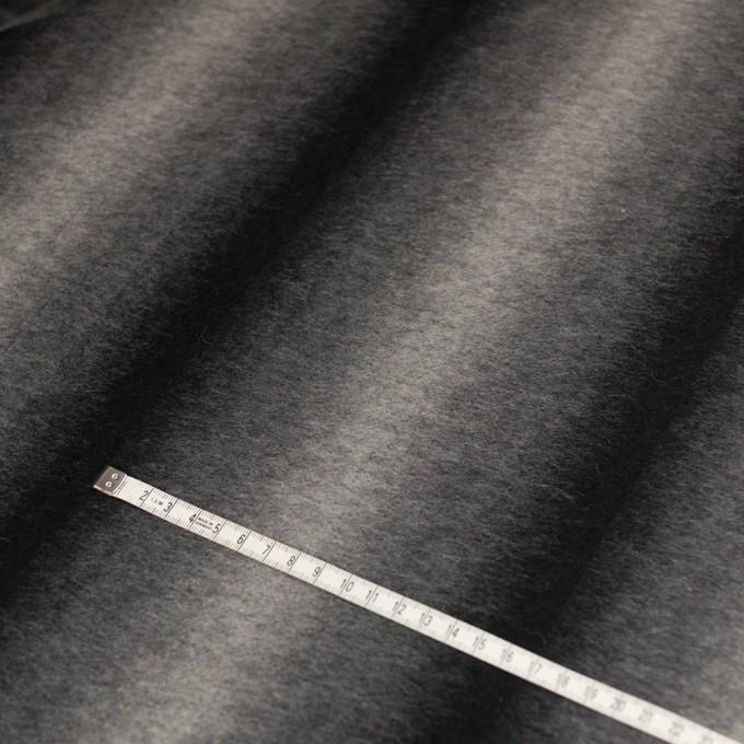 ウール&カシミア×オンブレ(ブラック&グレー)×ビーバー_全2色 イメージ5
