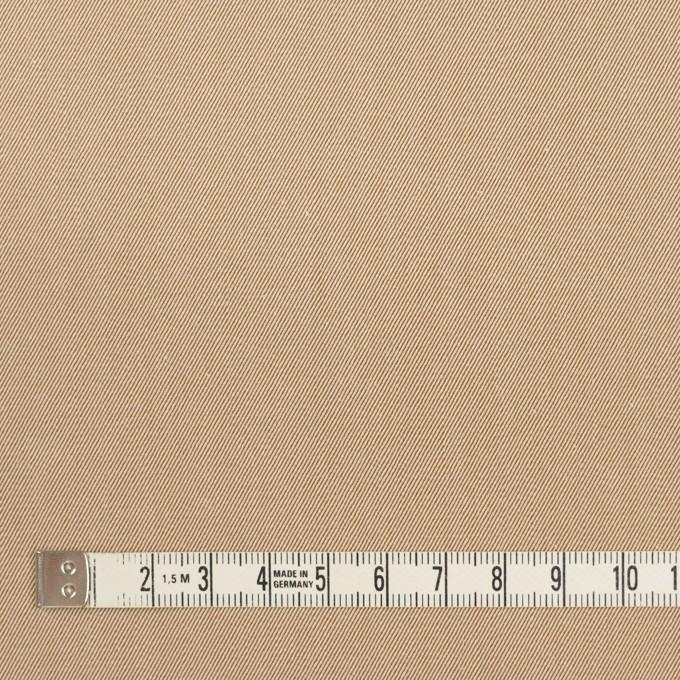 コットン×無地(ベージュ&モカ)×シャンブレーチノクロス_全3色 イメージ4