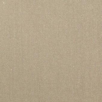 コットン×無地(ベージュ&ダークブラウン)×シャンブレーチノクロス_全3色