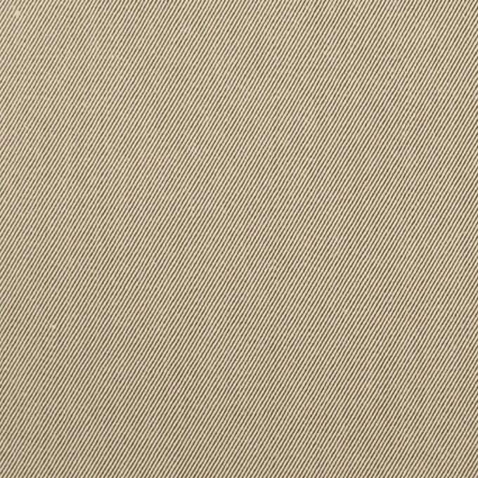 コットン×無地(ベージュ&ダークブラウン)×シャンブレーチノクロス_全3色 イメージ1