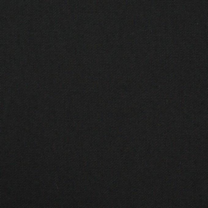 コットン×無地(ブラック)×チノクロス_全5色 イメージ1