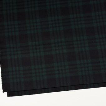 ウール&カシミア×チェック(ブラックウォッチ)×ビーバー サムネイル2