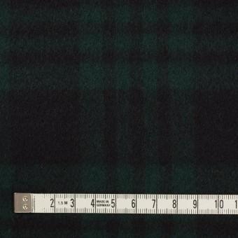ウール&カシミア×チェック(ブラックウォッチ)×ビーバー サムネイル4