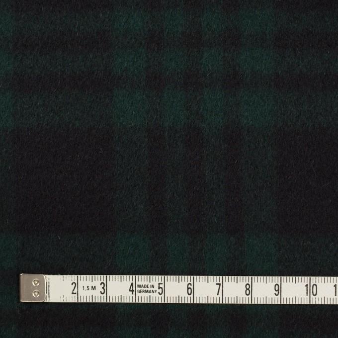 ウール&カシミア×チェック(ブラックウォッチ)×ビーバー イメージ4