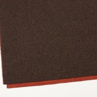 ウール&ポリエステル混×無地(カーキブラウン&トマト)×Wツイード_全4色 サムネイル2